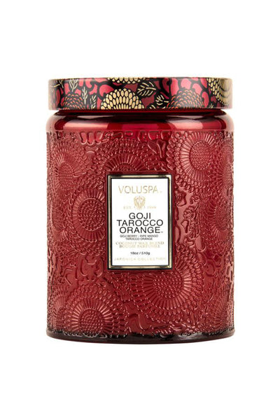 VOLUSPA, Goji Tarocco Orange Large Jar Candle