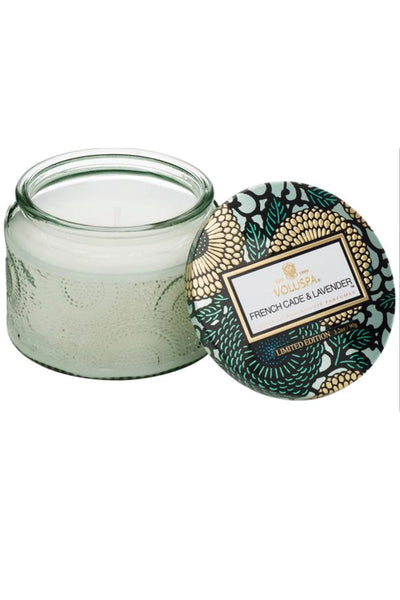 VOLUSPA, French Cade Lavender Petite Jar Candle