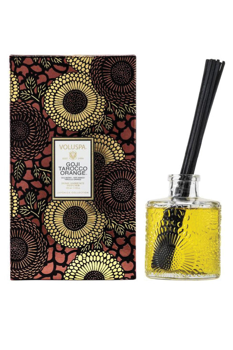 VOLUSPA, Goji Tarocco Orange Reed Diffuser