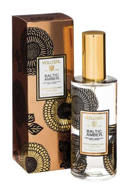 VOLUSPA Baltic Amber Room & Body Spray