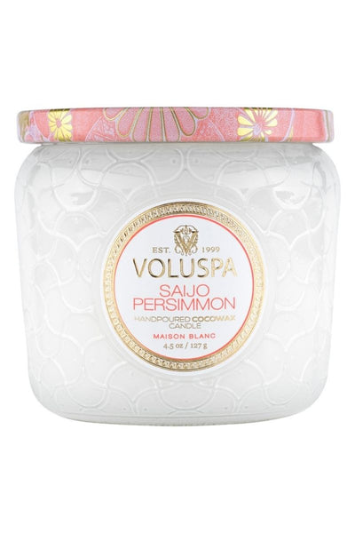 VOLUSPA Saijo Persimmon Petite Jar Candle