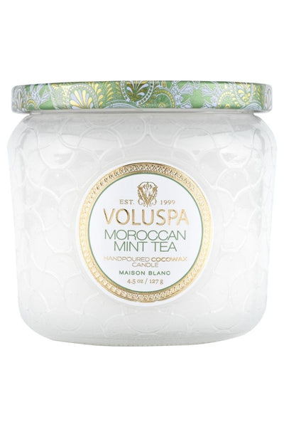 VOLUSPA Moroccan Mint Tea Petite Jar Candle