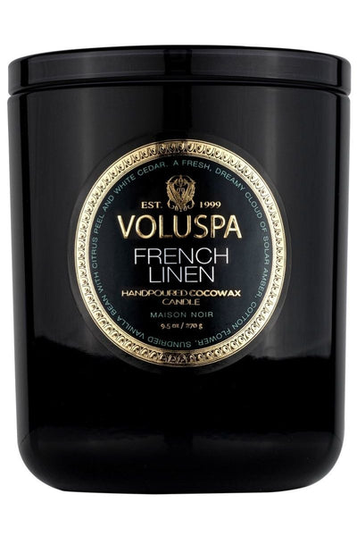 VOLUSPA French Linen Classic Candle