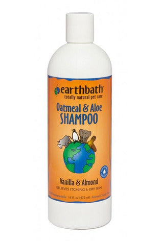 Earthbath Oatmeal and Aloe Shampoo for Dogs and Cats
