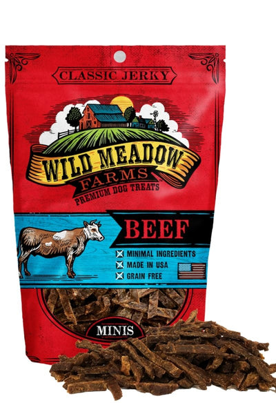 Wild Meadow Farms Classic Beef Bites Dog Treats