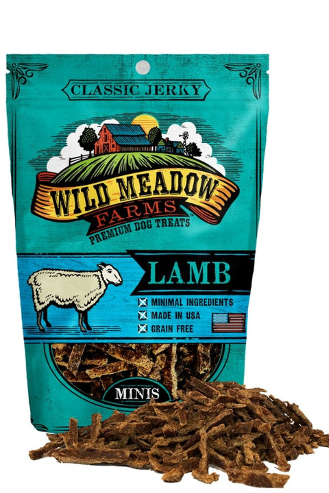 Wild Meadow Farms Classic Lamb Bites Dog Treats