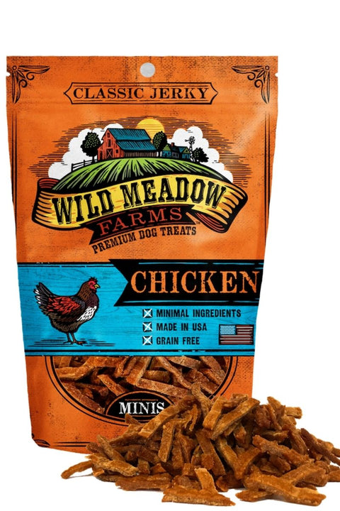 Wild Meadow Farms Classic Chicken Bites Dog Treats