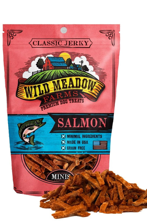 Wild Meadow Farms Classic Salmon Bites Dog Treats