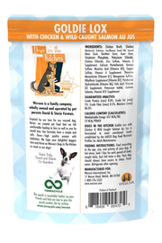 Weruva Dogs in the Kitchen Goldie Lox Pouch with Chicken & Wild-Caught Salmon Au Jus (2.8 oz)