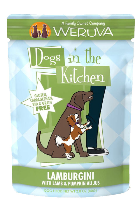 Weruva Dogs in the Kitchen Lamburgini Pouch with Lamb & Pumpkin Au Jus (2.8 oz)