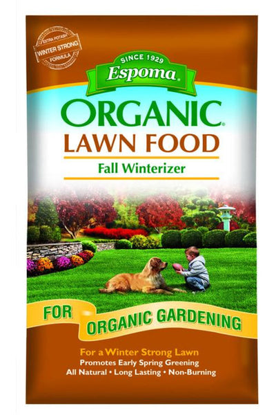 Fertilizer, Fall Winterizer