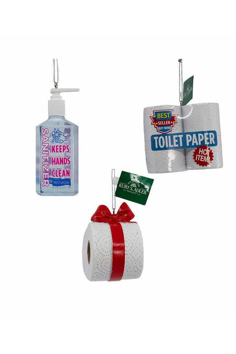 Toilet Paper Bow Ornament