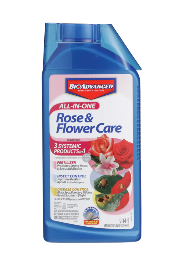 BioAdvanced All-in-One Rose and Flower Care 32OZ