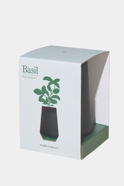 Indoor Basil Growing Kit: Tapered Tumbler