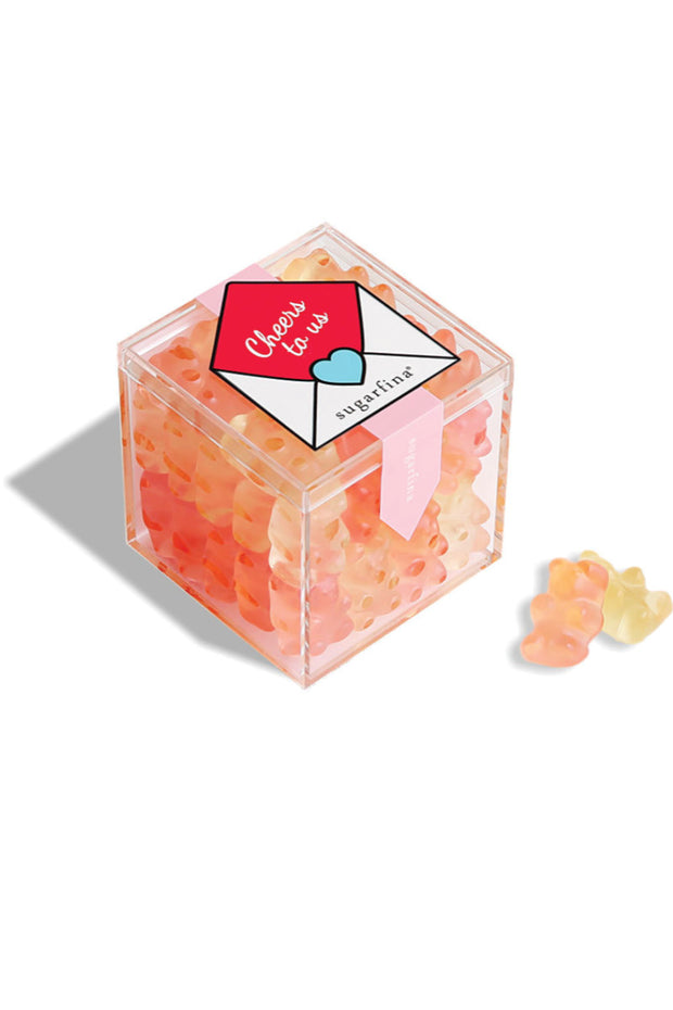 "SUGARFINA ""Cheers to Us"" Champagne Bears® Candy Cube"