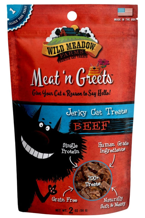 Wild Meadows Farm Meat N' Greets Beef Cat Treats