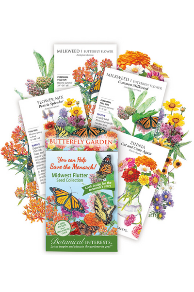 Midwest Flutter Butterfly Seeds 4-pack