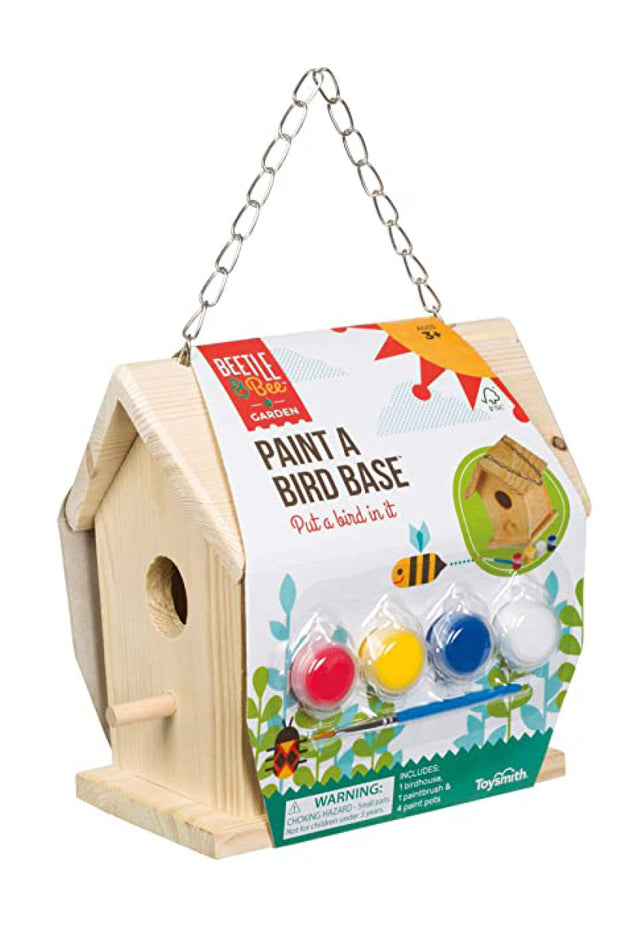KIDS: Paint a Bird House