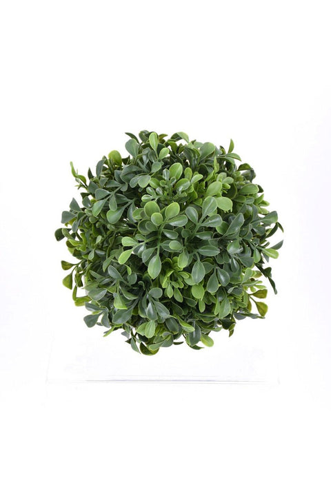 Faux Boxwood Ball 10""