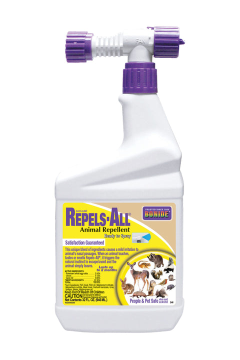 Repels-All Animal Repellent Spray with Hose