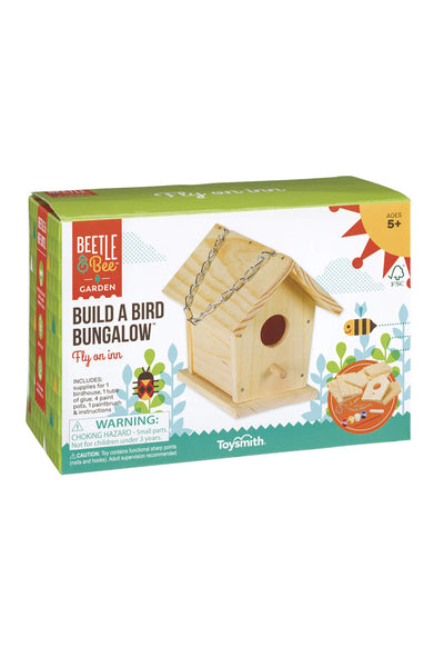 KIDS: Build a Bird Bungalow
