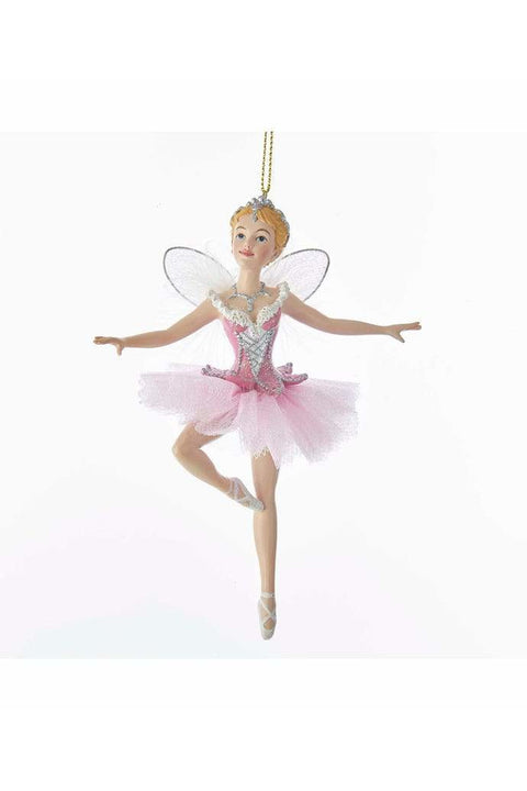 Nutcracker Suite Sugar Plum Fairy With Wings Ornament