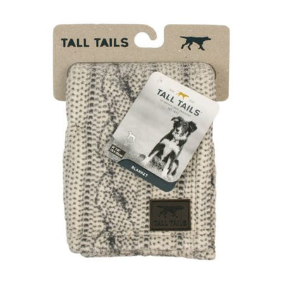 Tall Tails, Cable Knit Large Blanket