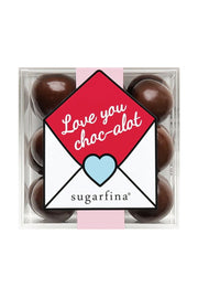 "SUGARFINA ""Love You Choc-alot"" Dark Chocolate Sea Salt Caramels Candy Cube"
