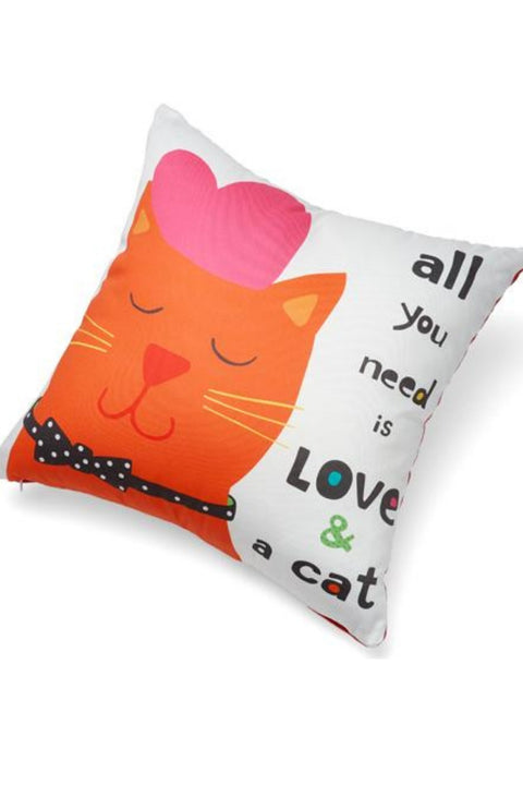 Up Country Cat Love Pillow