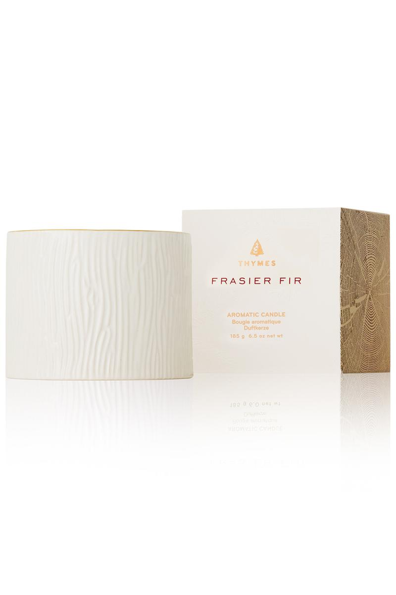 Candle, Fraser Fir Gilded Ceramic (6.5oz)