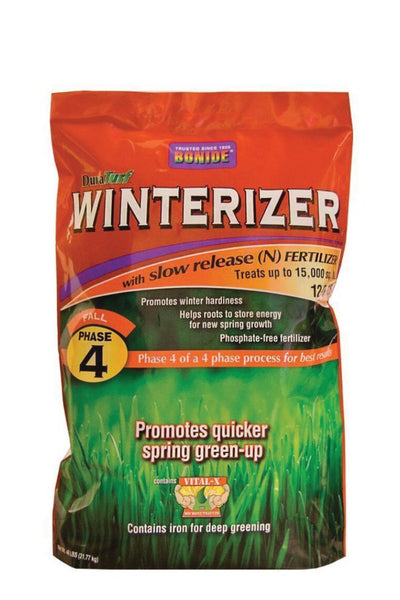 Fertilizer, Winterizer 12-0-15