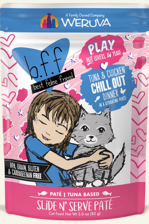 Weruva BFF Tuna & Chicken Chill Out Dinner (3.0 oz Pouch)