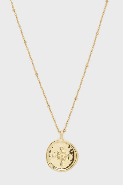Gorjana, Compass Coin Necklace