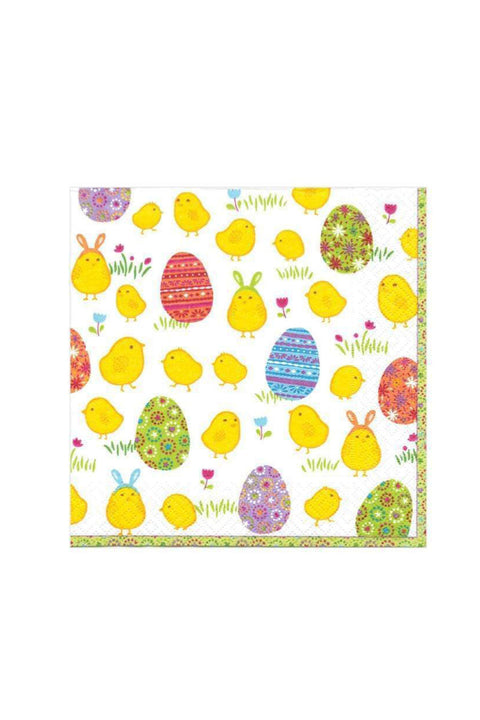 Caspari Peep Paper Cocktail Napkins