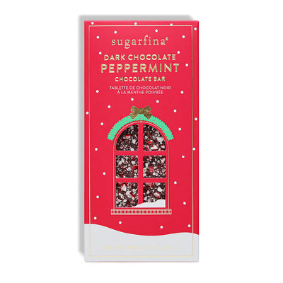 DARK CHOCOLATE PEPPERMINT BAR