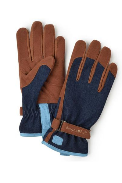 Love The Glove - Gardening Gloves in Denim Print