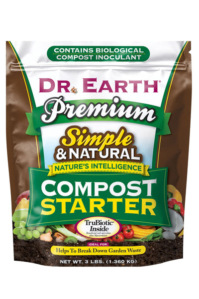 Dr. Earth Premium Compost Starter, 3 lb.