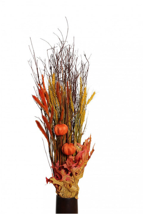 Dried Fall Harvest Bouquet Yellow