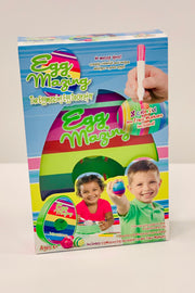 The EggMazing Easter Egg Decorator Kit - Includes 8 Colorful Quick Drying Non Toxic Markers