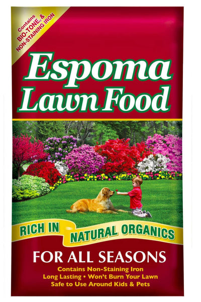 Espoma Lawn Fertilizer 20lbs 15-0-5