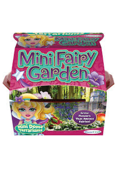 KIDS: Mini Fairy Dome Garden