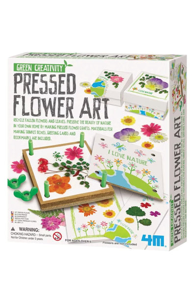 KIDS: Pressed Flower Art Kit