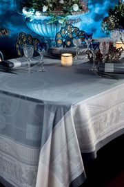 Garnier-Thiebaut, Roma Ardoise Tablecloth