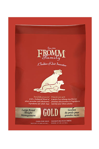 Fromm Large Breed Weight Management Gold Dry Dog Food