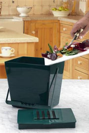 Odor Free Kitchen Compost Caddy