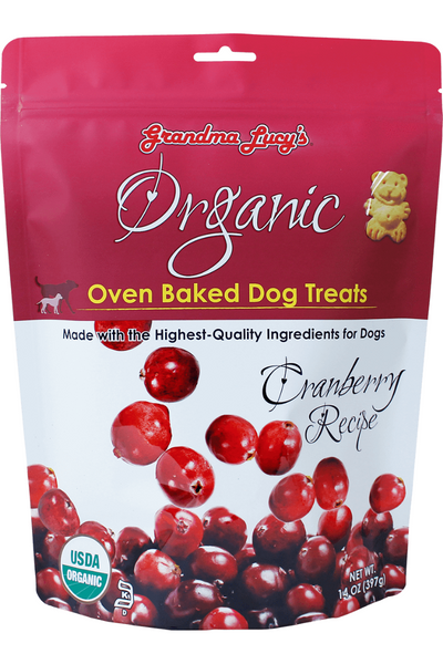 Grandma Lucy's Organic Cranberry Dog Treats