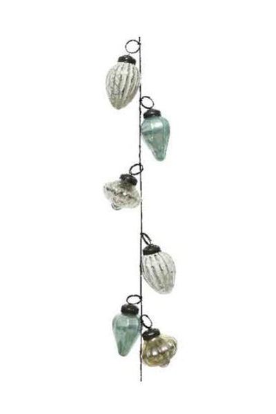 Glass Bauble Garland