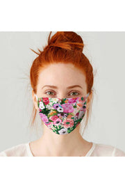 Haute House Floral Cotton Jersey Adult Face Mask