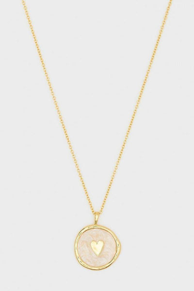 Gorjana, Heart Coin Necklace