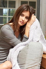 Barefoot Dreams - The Cozychic Heathered Throw Blanket